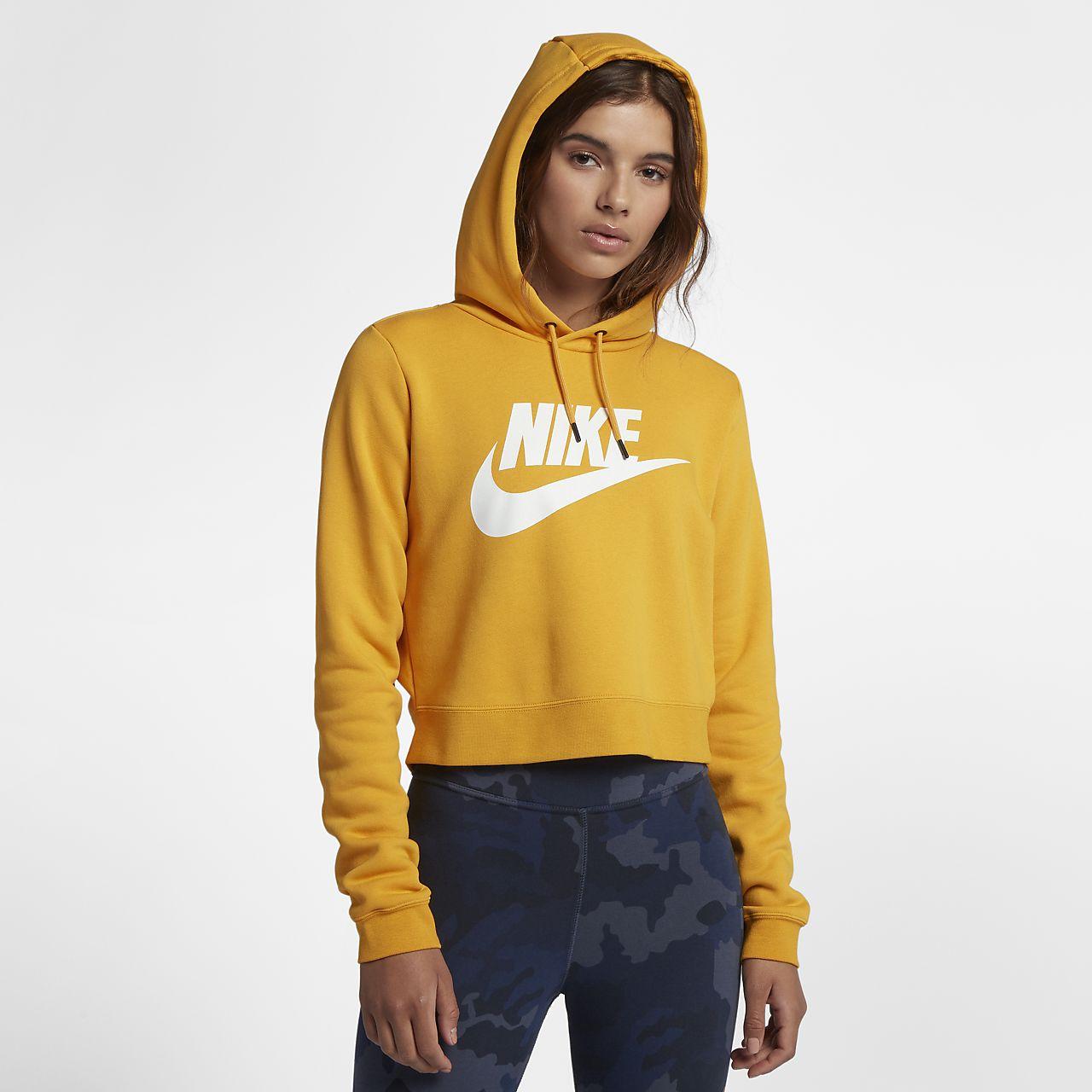 Sweat à capuche court Nike Sportswear Rally pour Femme