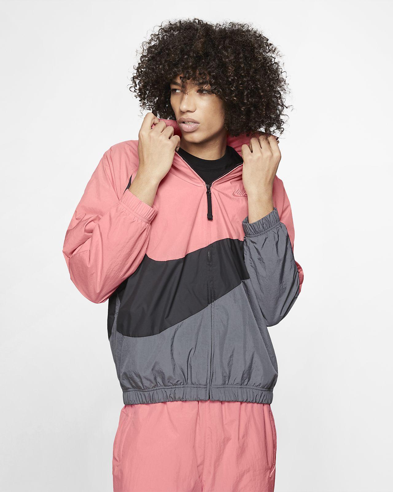 Nike Sportswear 'Swoosh' Geweven windjack