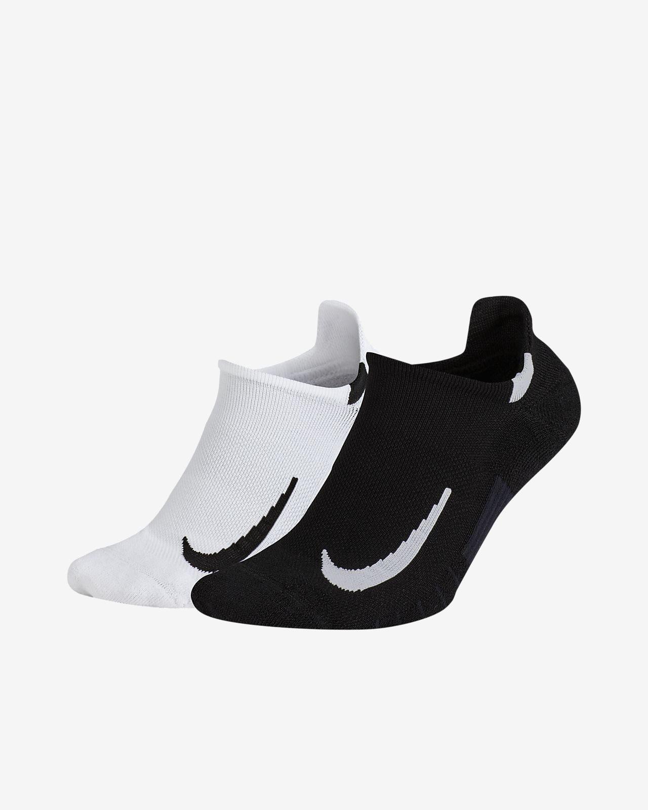 Nike Multiplier No-Show Socks (2 Pair)