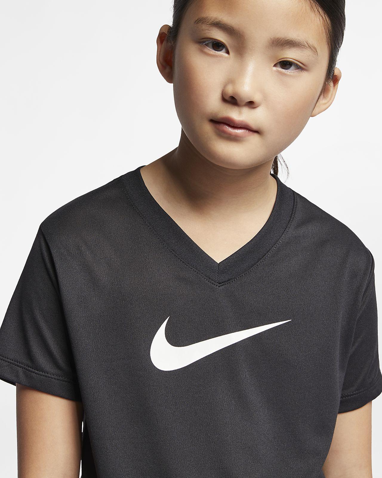 690b1566c0 Nike Dri-FIT Big Kids' Swoosh Training T-Shirt. Nike.com