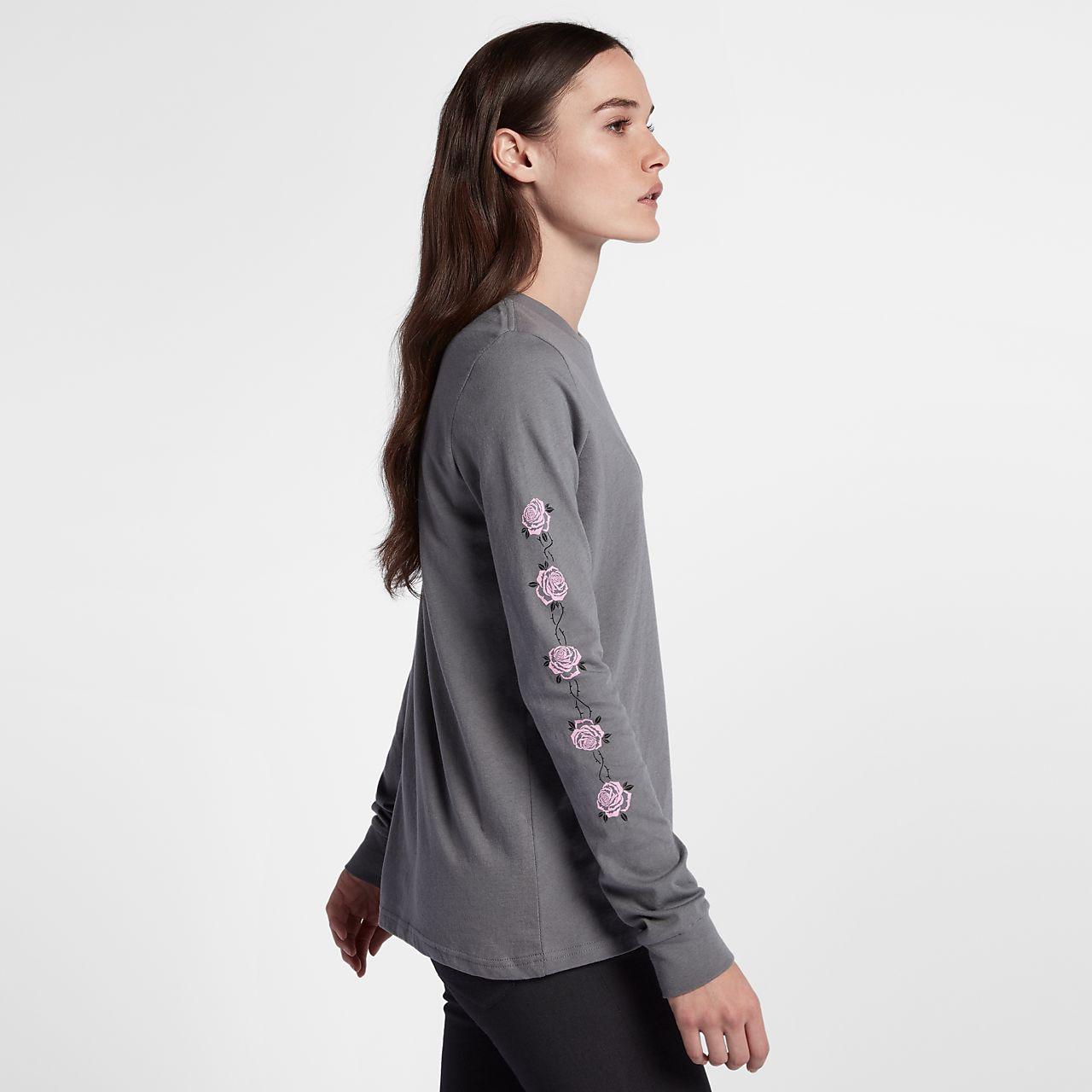 Hurley Light Streak Women's Long Sleeve T-Shirt. Nike.com