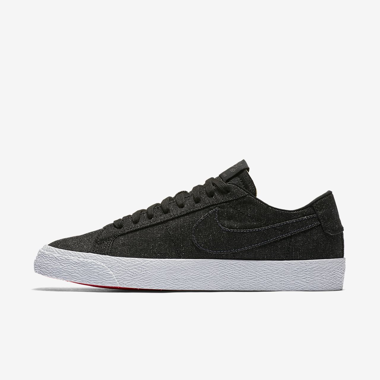 best authentic b55c3 fc96e Men s Skateboarding Shoe. Nike SB Zoom Blazer Low Canvas Deconstructed