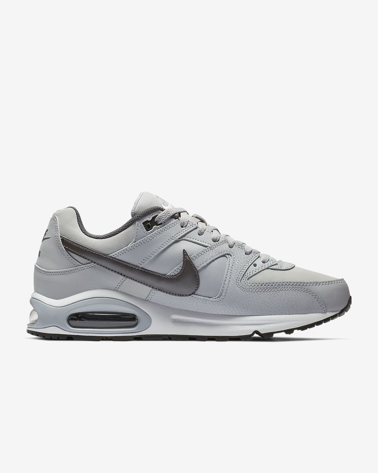 Details about Nike Air Max Command Leather black or gray men's sneakers casual shoes NEW
