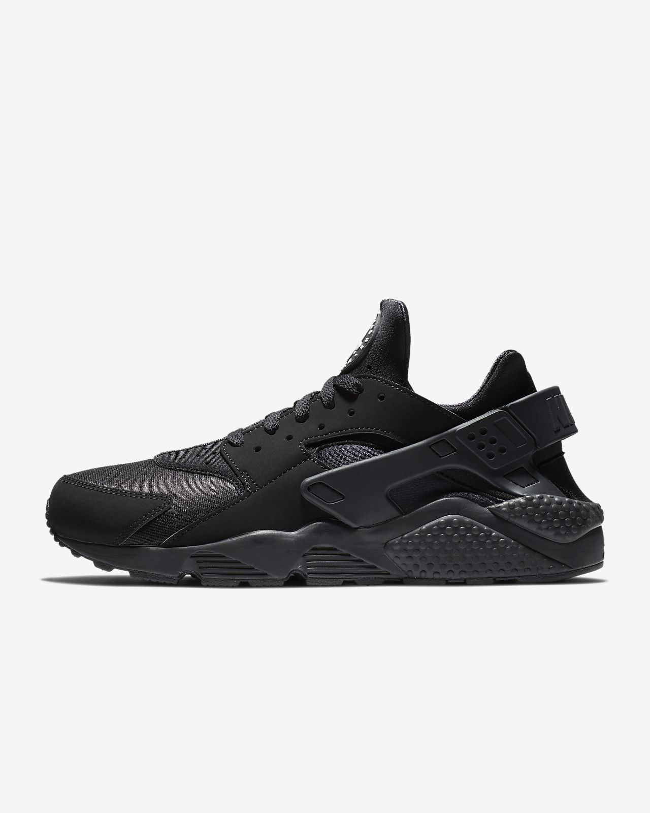 Buy Nike Huarache Free Men's Run Trainers LE Black White