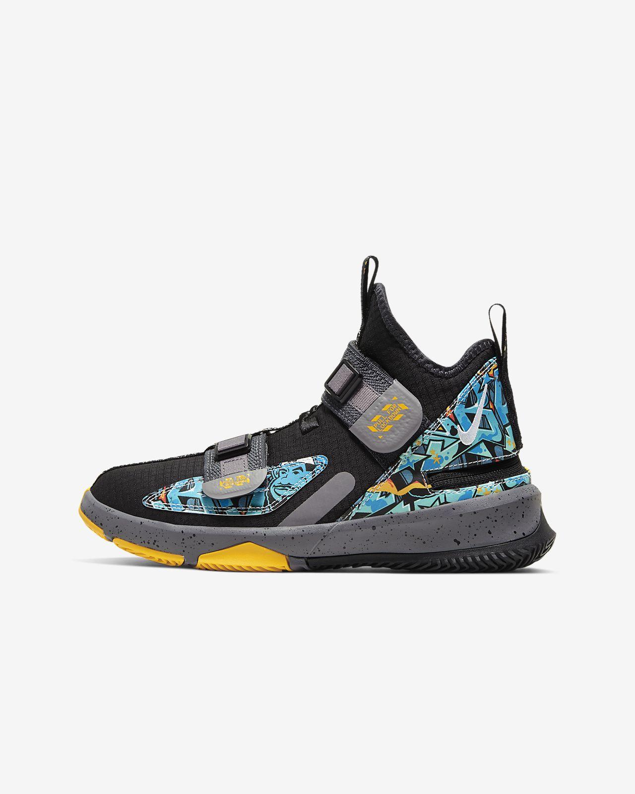 Баскетбольные кроссовки для школьников LeBron Soldier 13 FlyEase