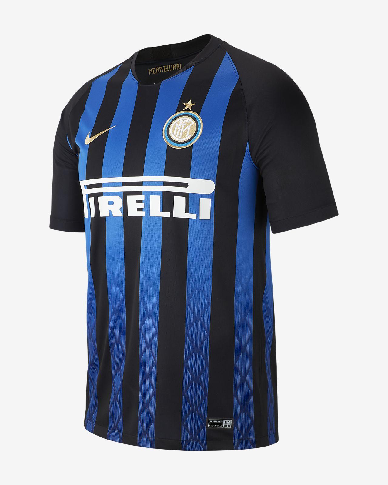 Fotbollströja 2018/19 Inter Milan Stadium Home för män