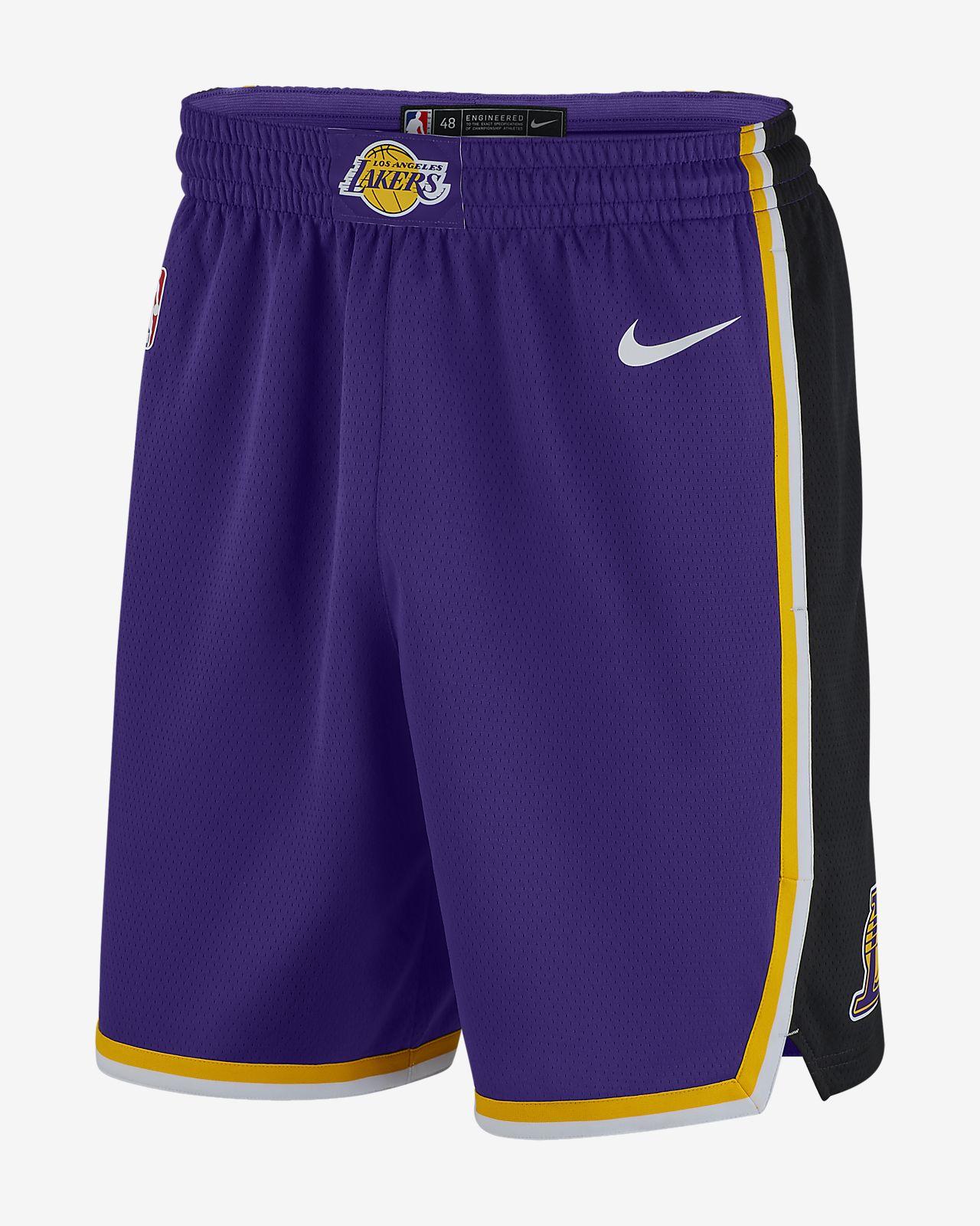 Pánské kraťasy Nike NBA Los Angeles Lakers Statement Edition Swingman