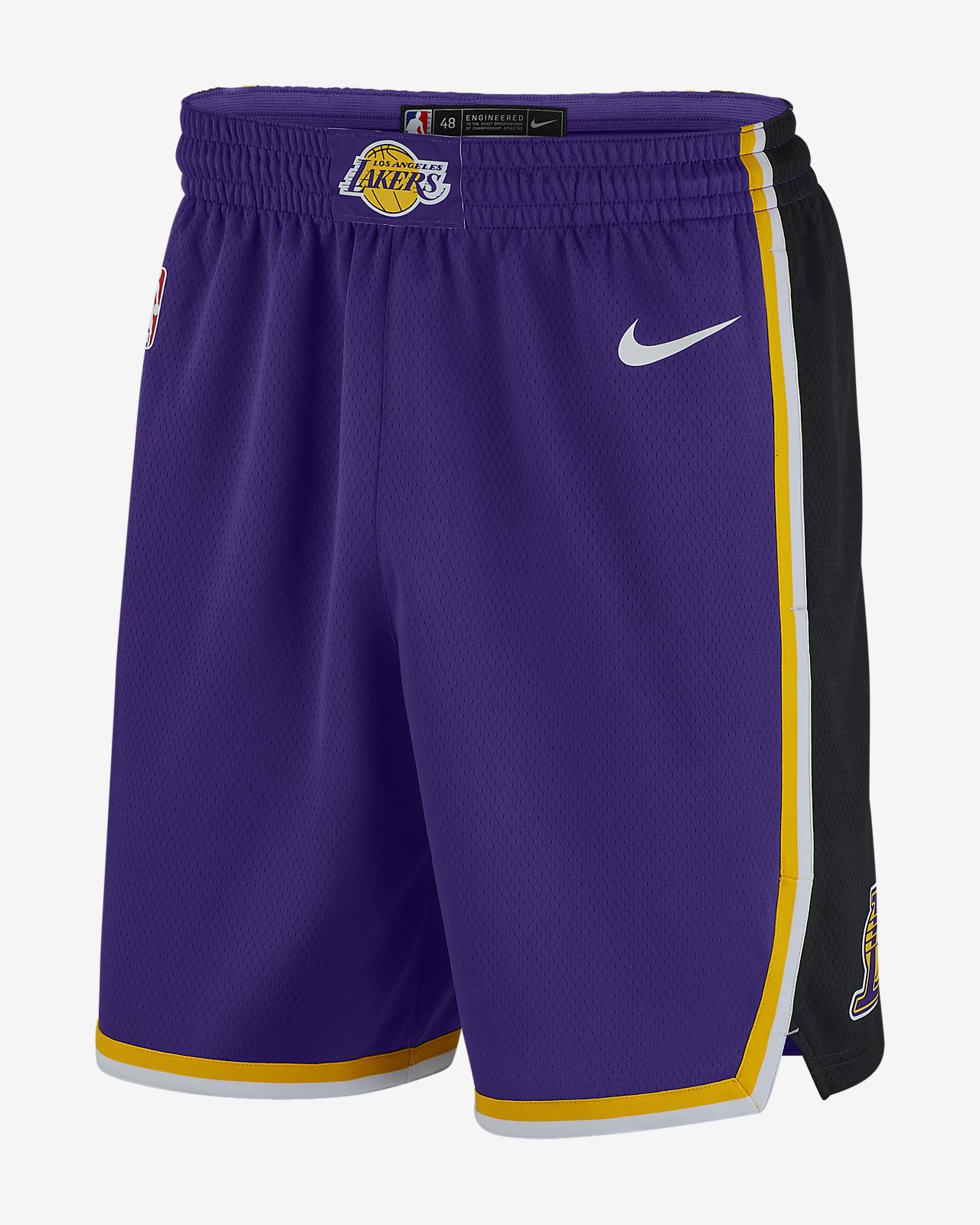 Short Nike NBA Los Angeles Lakers Statement Edition Swingman pour Homme