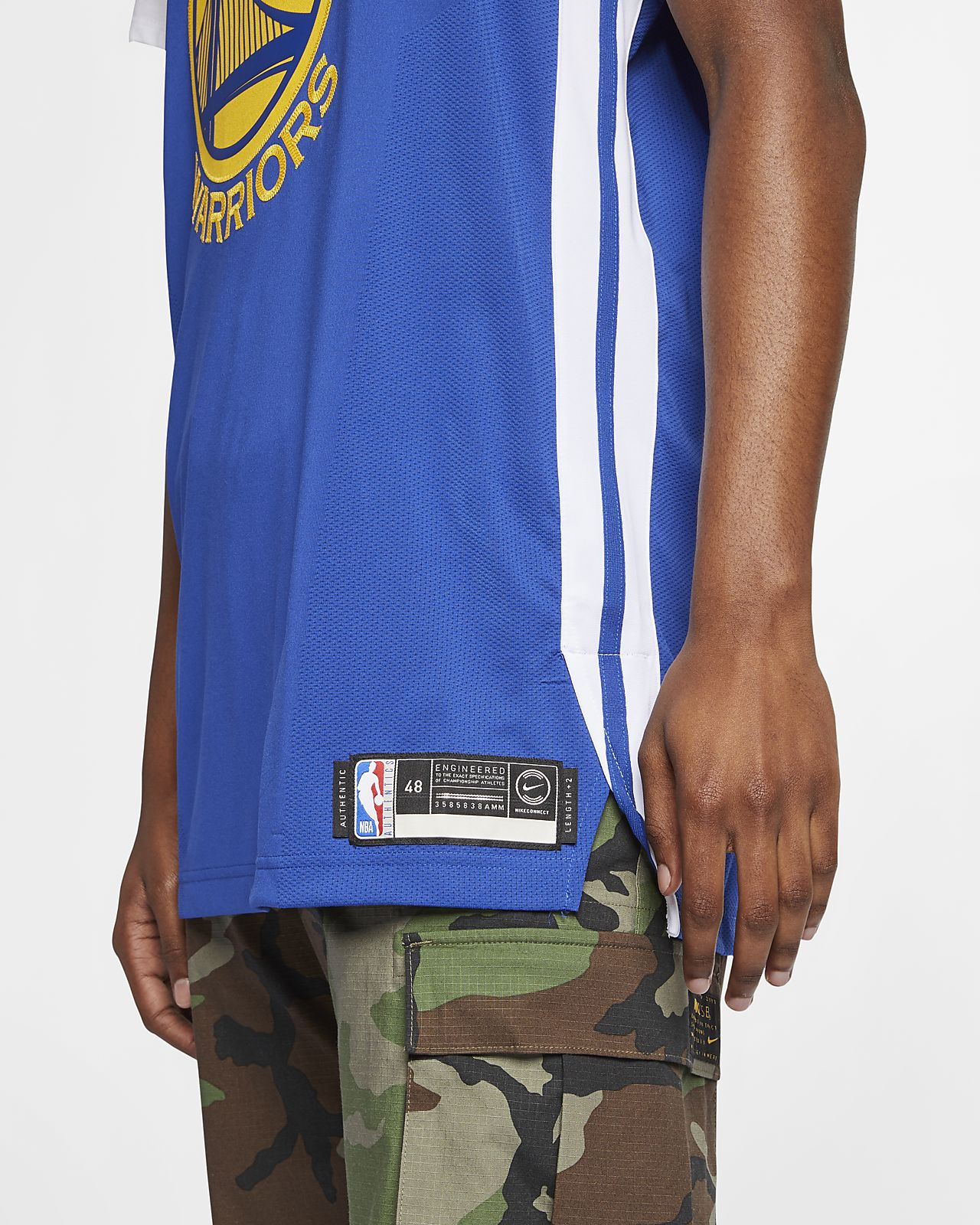 9e4432feb89 ... Kevin Durant Icon Edition Authentic (Golden State Warriors) Men s Nike  NBA Connected Jersey