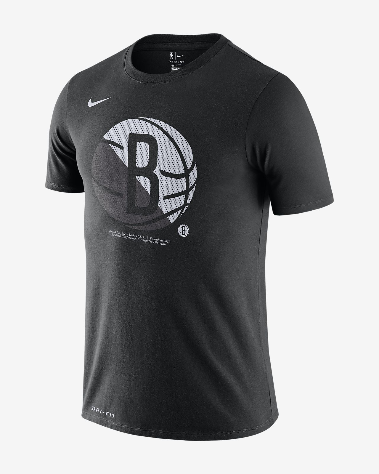 Tee-shirt NBA Brooklyn Nets Nike Dri-FIT pour Homme