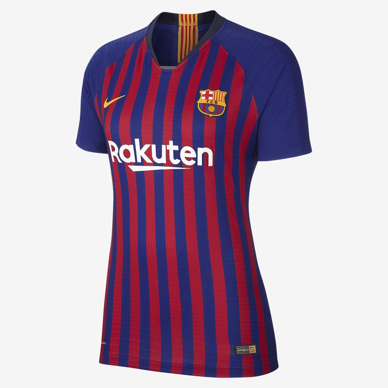 best service 5cd49 1f235 ... Camiseta de fútbol para mujer de local Vapor Match del FC Barcelona 2018  19
