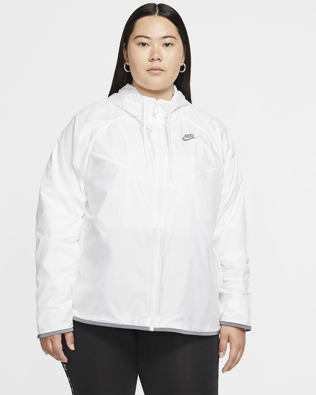 Chamarra para mujer Nike Sportswear Windrunner (talla grande)