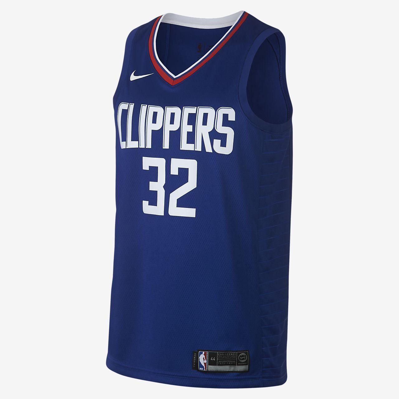 ... Maillot connecté Nike NBA Blake Griffin Icon Edition Swingman (LA  Clippers) pour Homme
