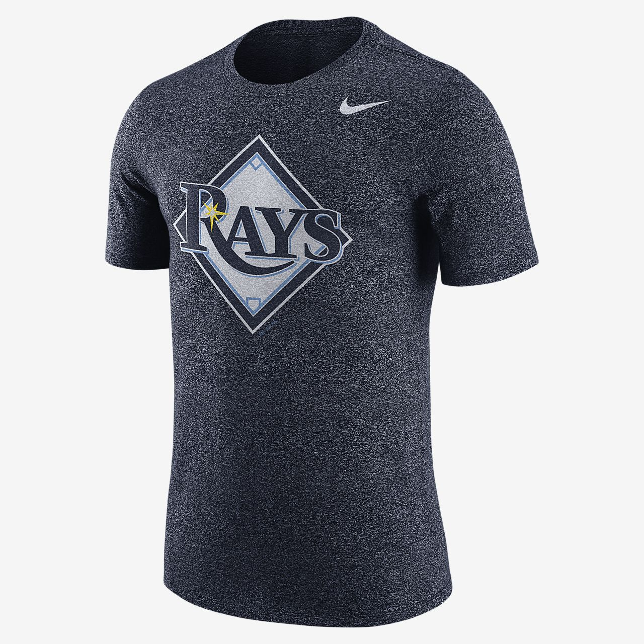 Nike Marled (MLB Rays) Men's T-Shirts Navy