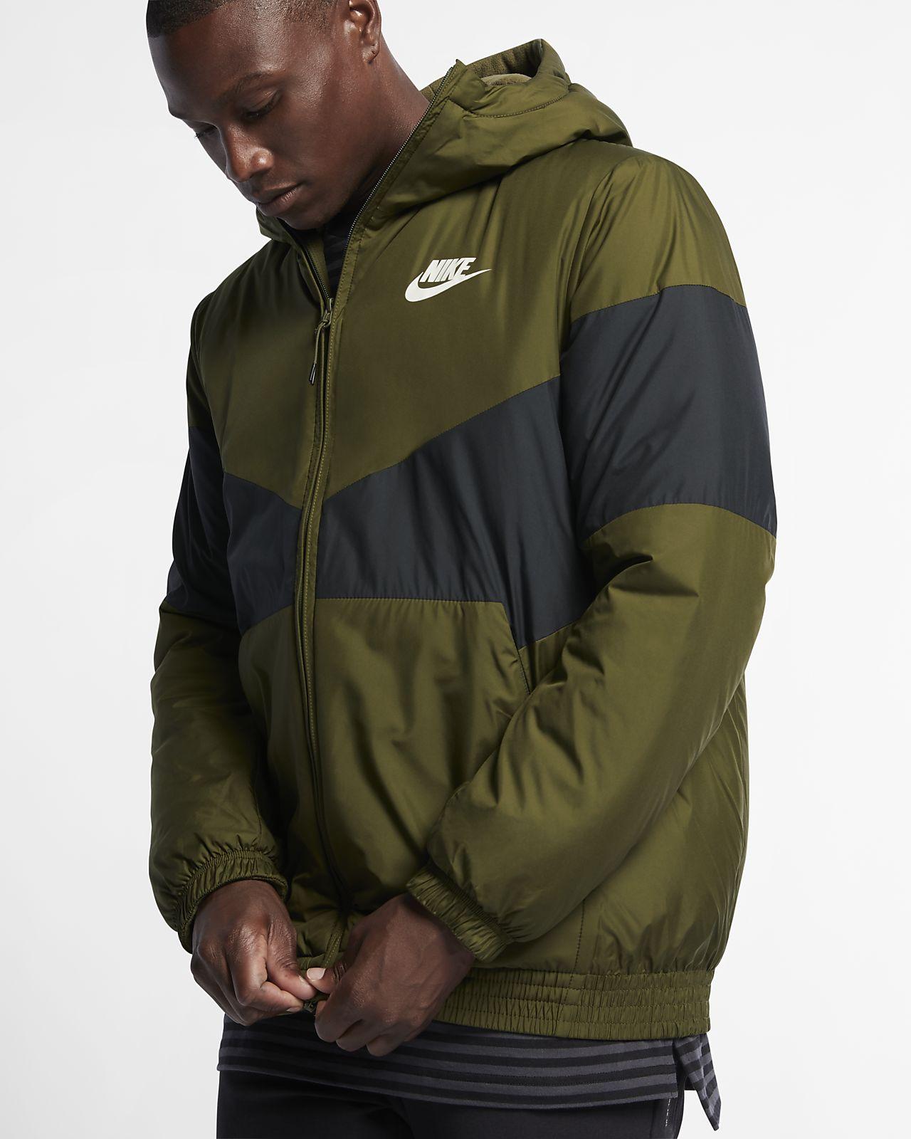 f0f4c4390ec5 Nike Sportswear Synthetic Fill Men s Hooded Jacket. Nike.com GB