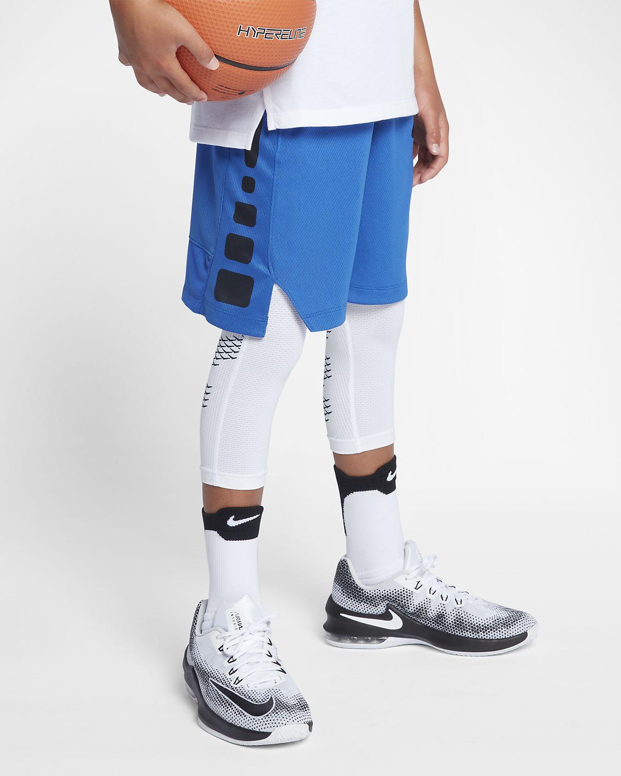 Nike Dri FIT Elite Big Kids Boys Basketball Shorts Nike