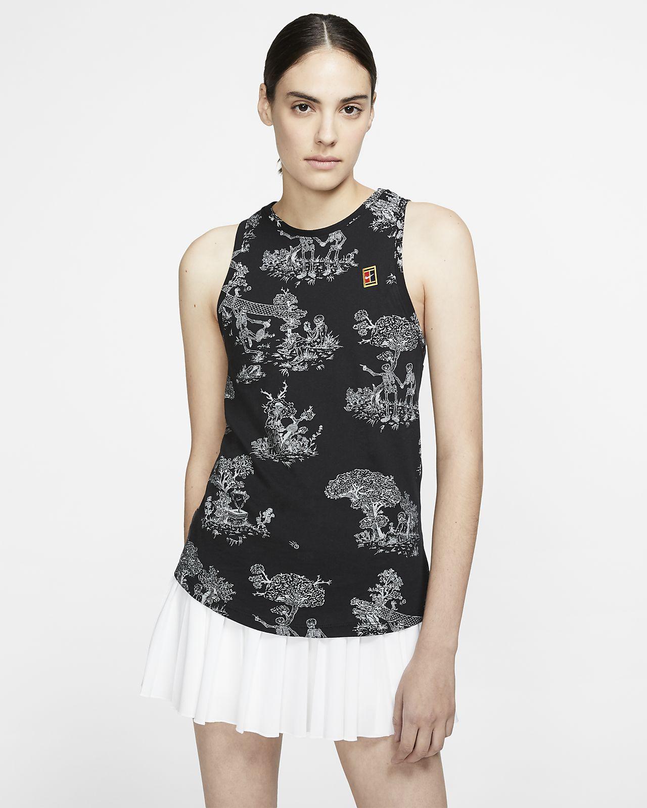 Camiseta de tirantes de tenis para mujer NikeCourt