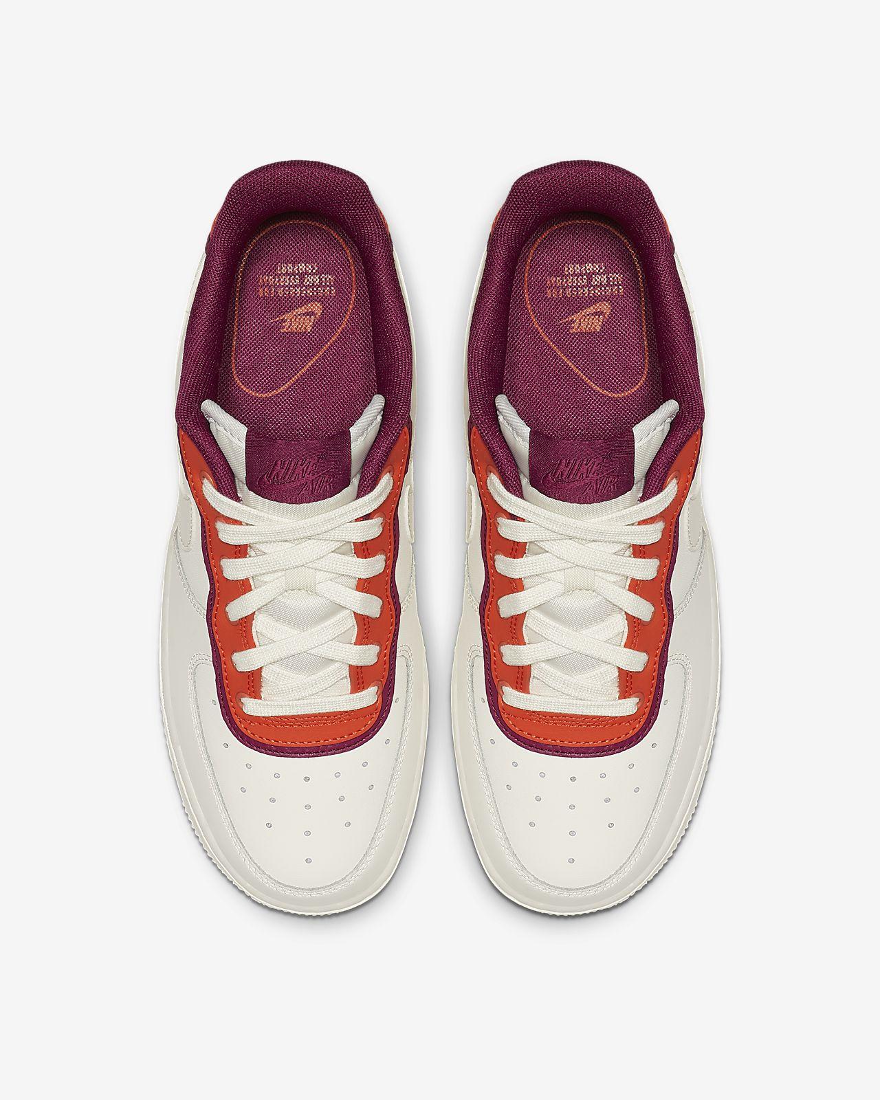 Nike Air Force 1 07 SE Sail Team Orange True Berry AA0287