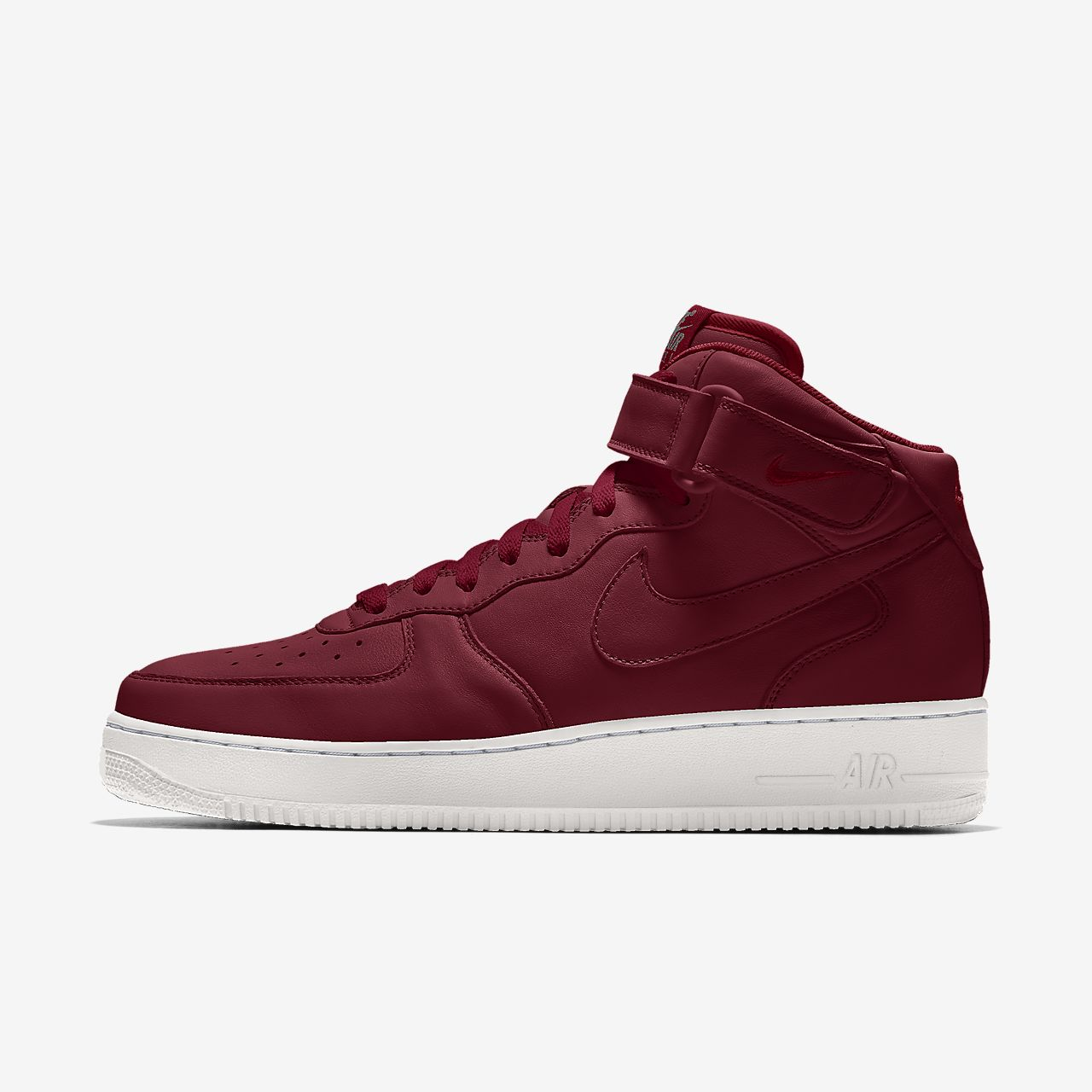 Specialdesignad sko Nike Air Force 1 Mid By You för män