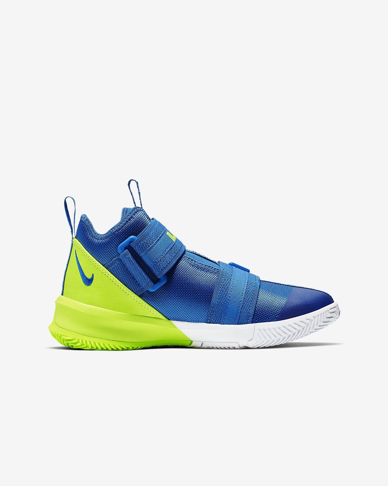 e30d174e6f1a2 LeBron Soldier 13 Big Kids' Basketball Shoe. Nike.com