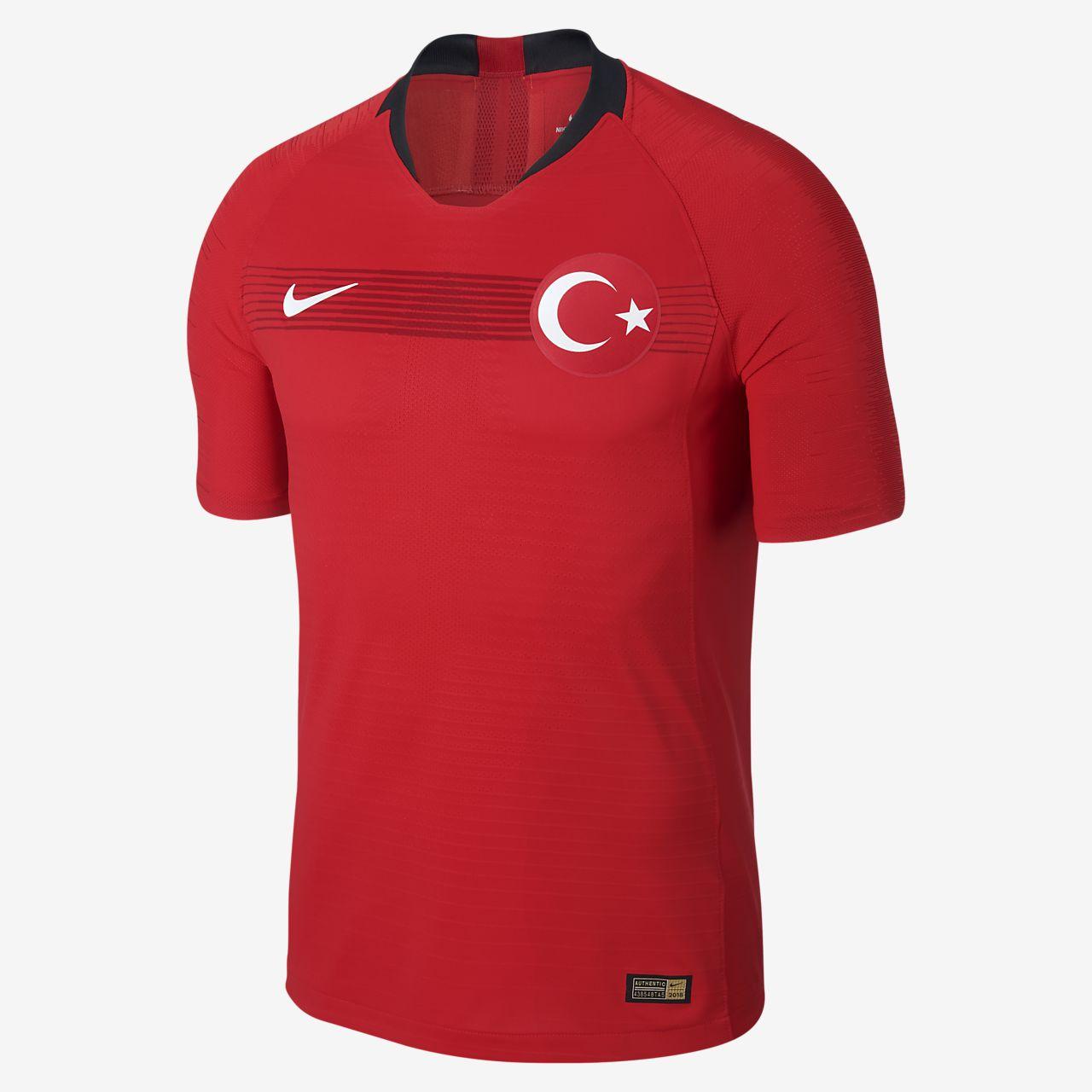 Camiseta de fútbol de local/visitante para hombre Vapor Match de Turquía 2018