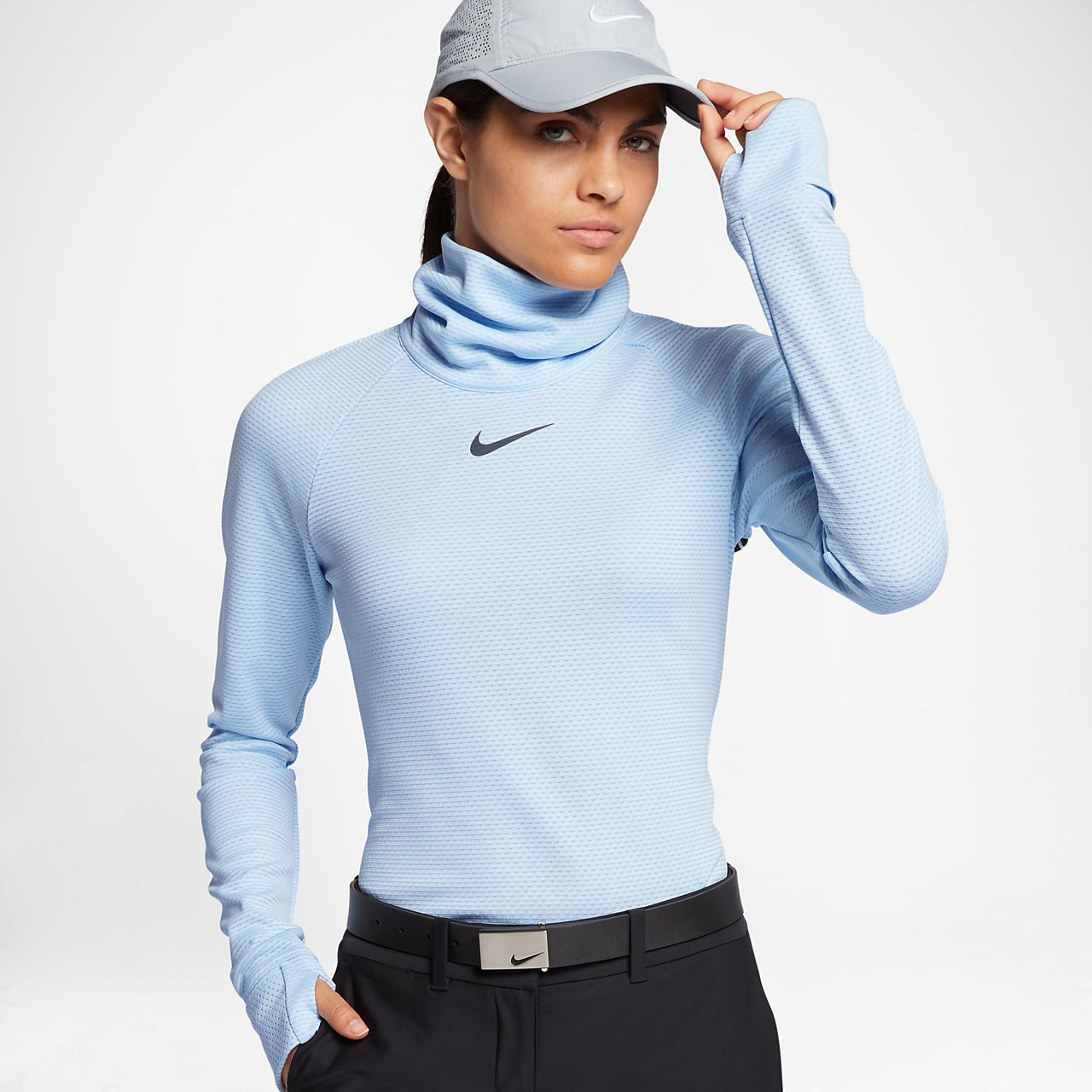 ... Nike AeroReact Warm Women's Long-Sleeve Golf Top