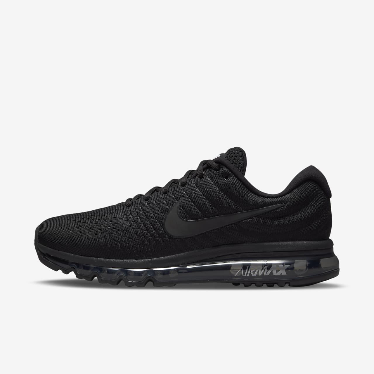 Nike Air Max 1 Erkekler Popüler Ayakkabı Siyah Gri Mavi Best Deals