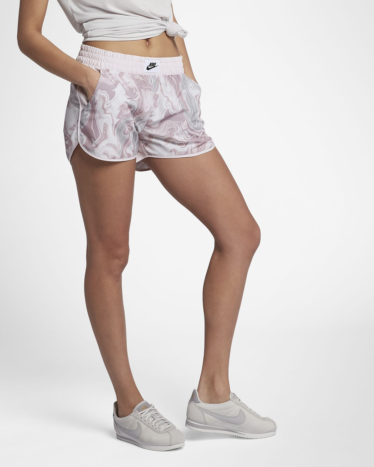 Nike FemmeMa Tissé Sportswear Imprimé Short Pour qMpSGLUzV