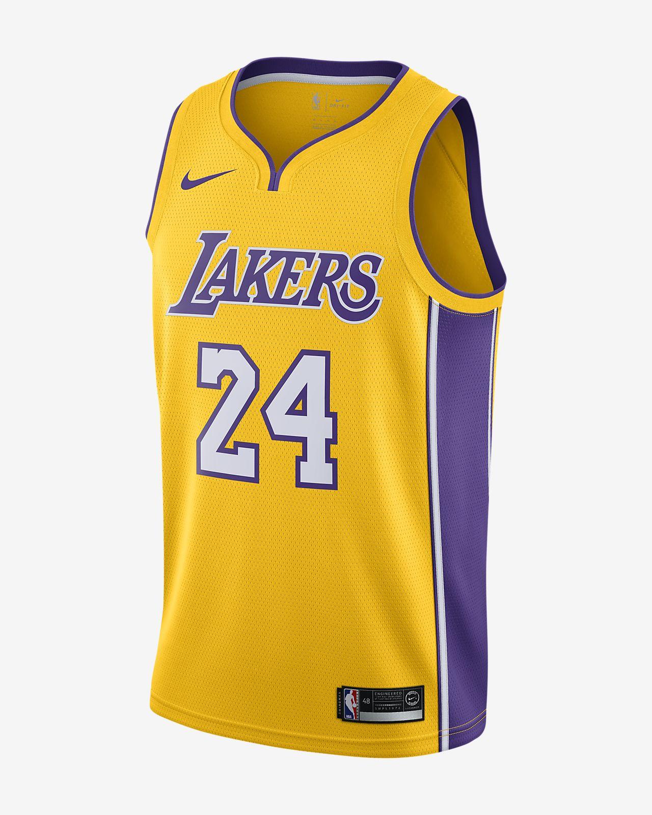 Kobe Bryant Icon Edition Swingman (Los Angeles Lakers) Men's Nike NBA Jersey