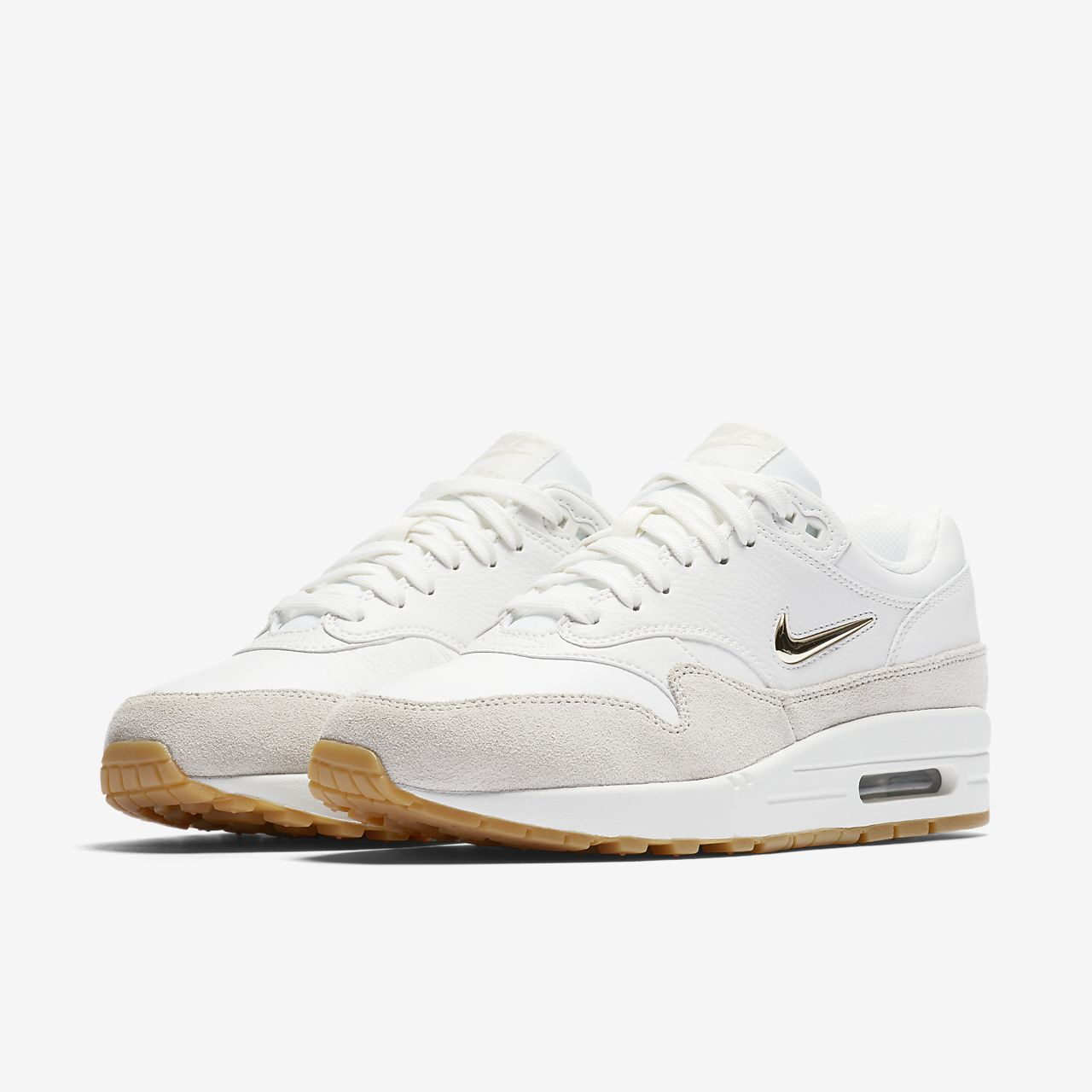 nike air max 1 premium sc jewel white red nz
