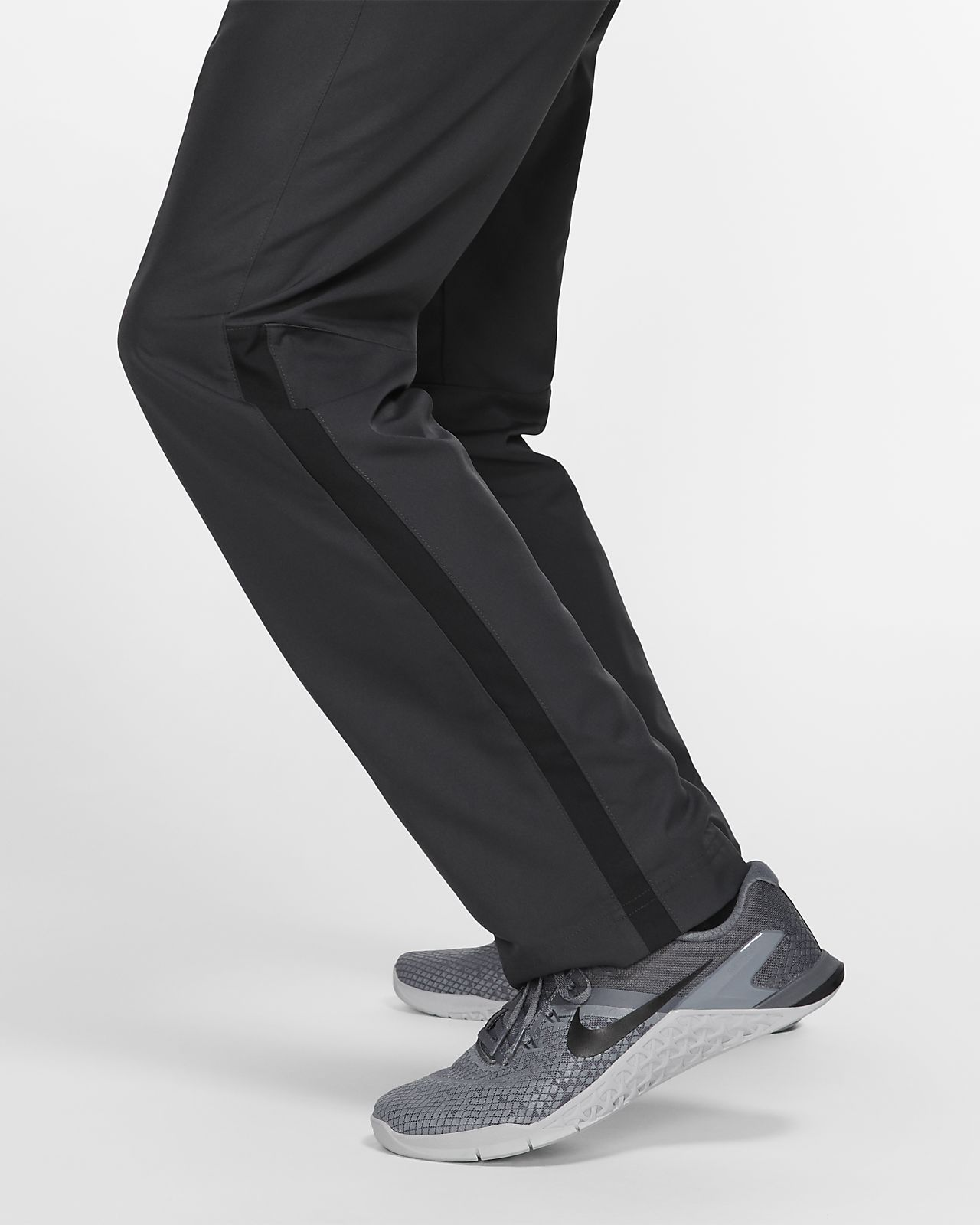 Nike Dri FIT Trainingshose Herren black metallic hematite