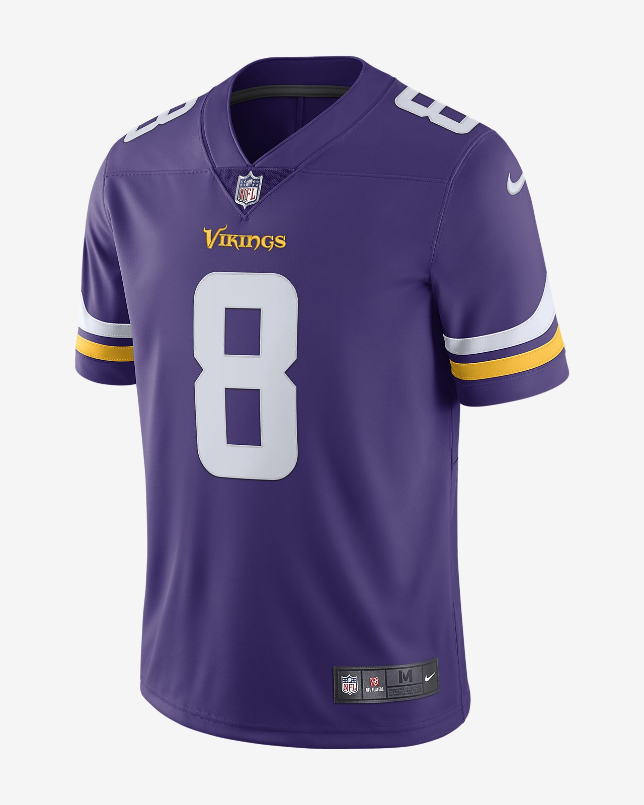 dd4ffdd7 NFL Minnesota Vikings Limited (Kirk Cousins) Men's Football Jersey