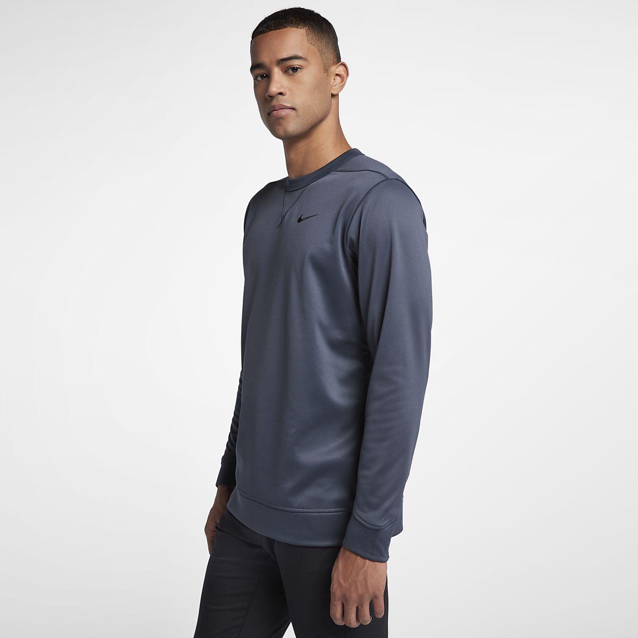 Haut de golf à manches longues Nike Therma pour Homme