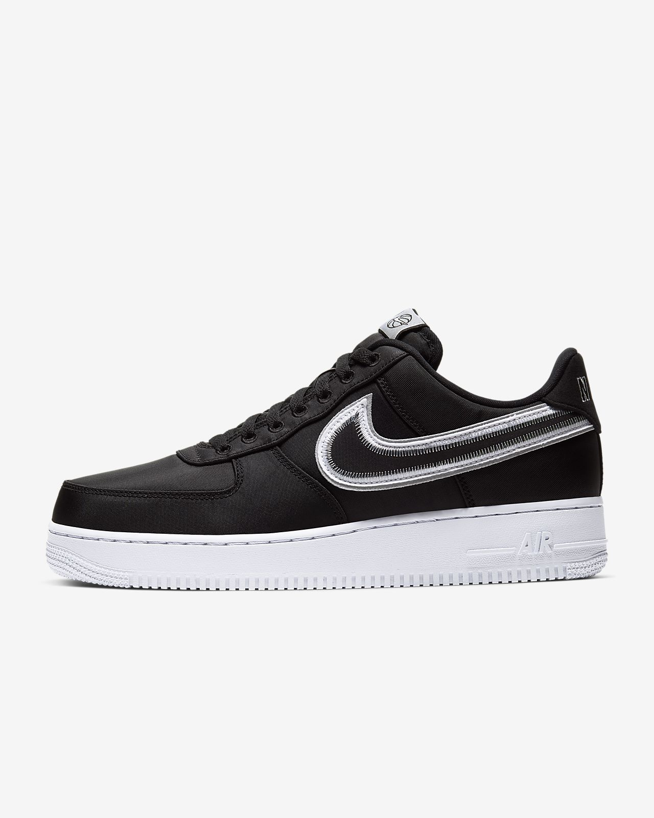 Nike Air Force 1 07 Suede Schwarz