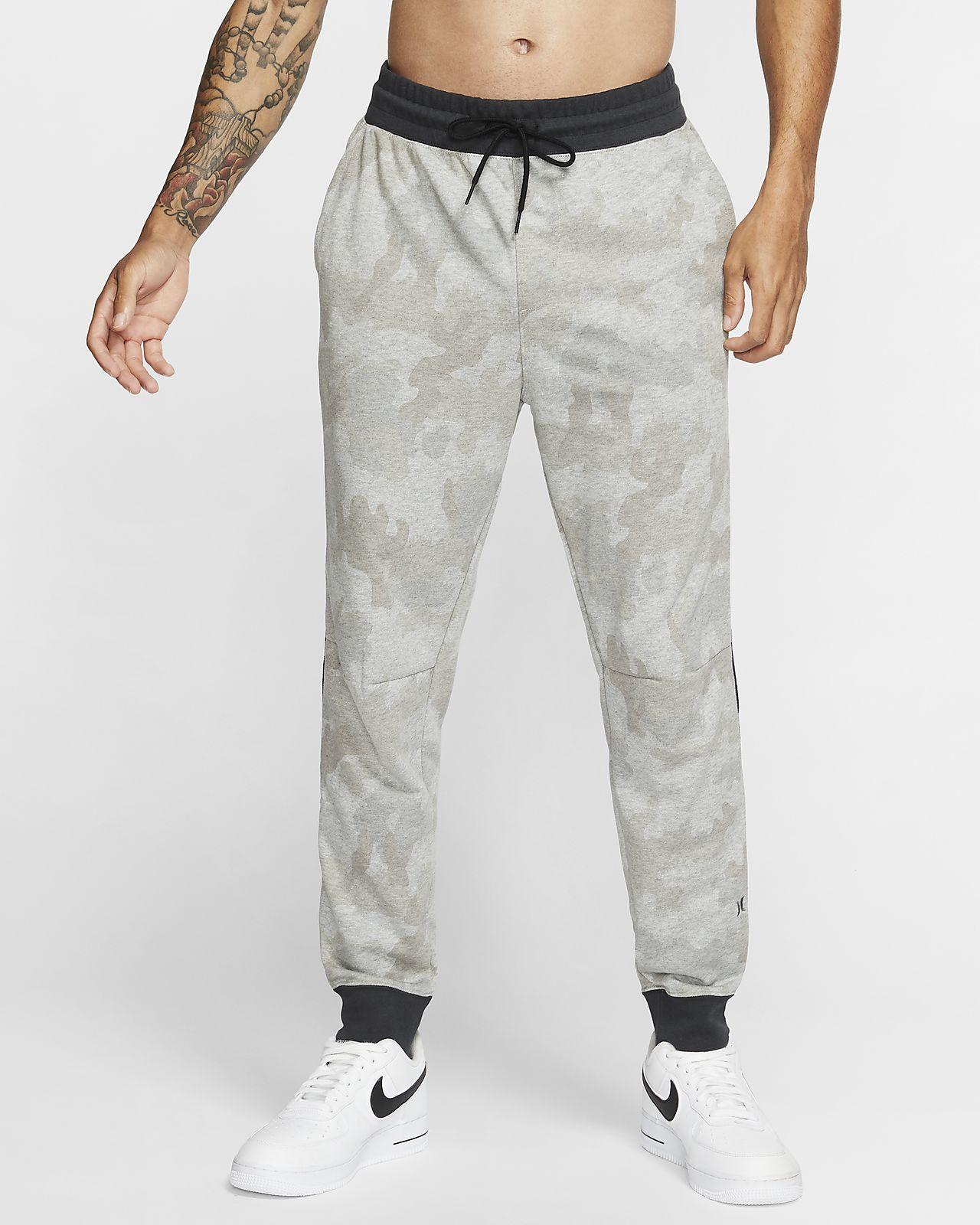 Pánské flísové běžecké kalhoty Hurley Dri-FIT Naturals