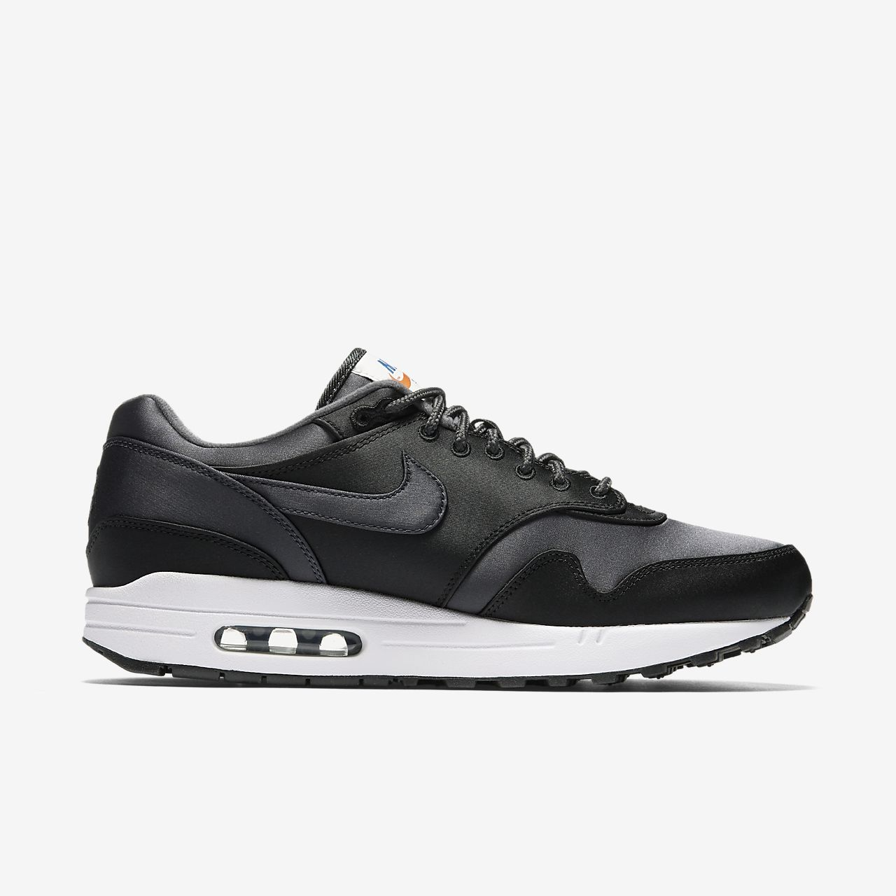Marques Chaussure homme Nike homme Nike Air Max 1 Se Black/Anthracite-White