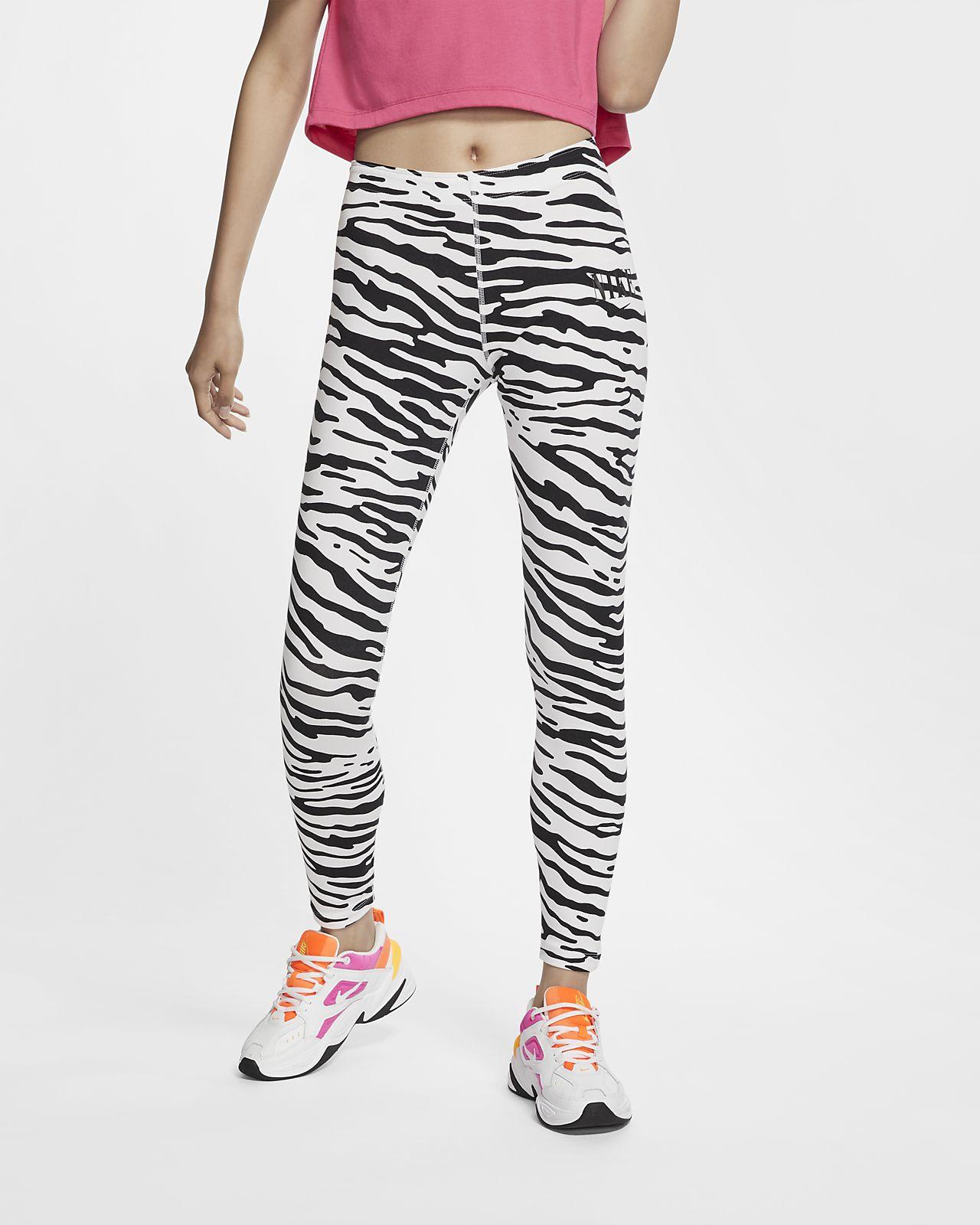 Nike Sportswear Essential-leggings med print til kvinder