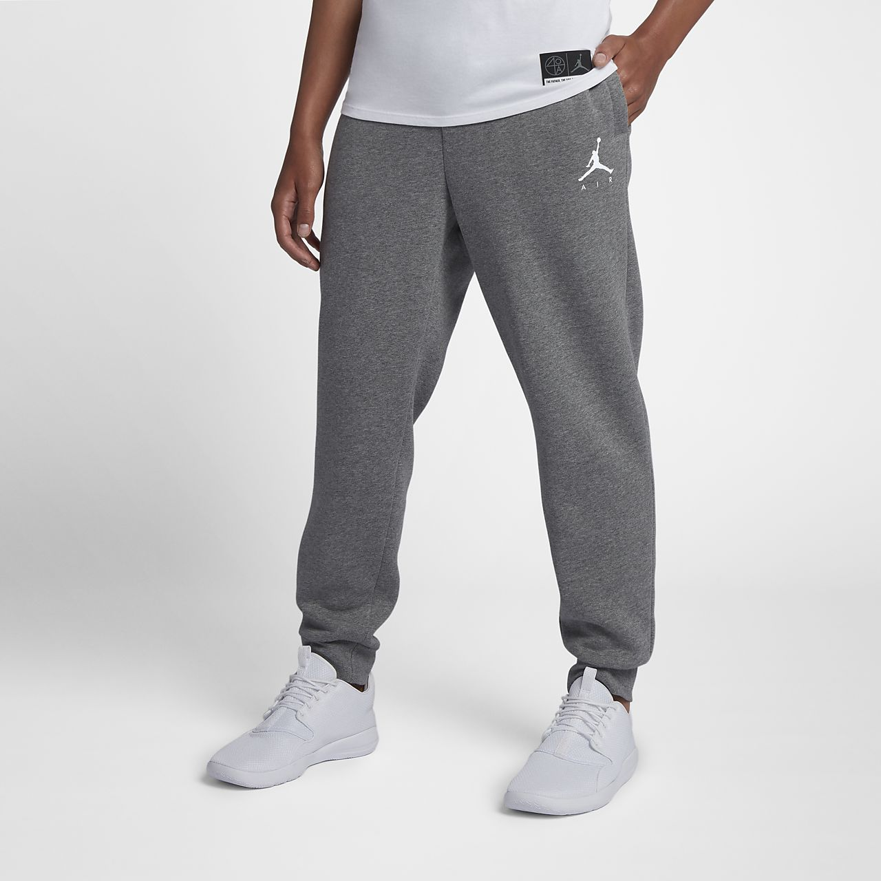 e137fe63d0af Jordan Jumpman Air Men s Fleece Pants. Nike.com
