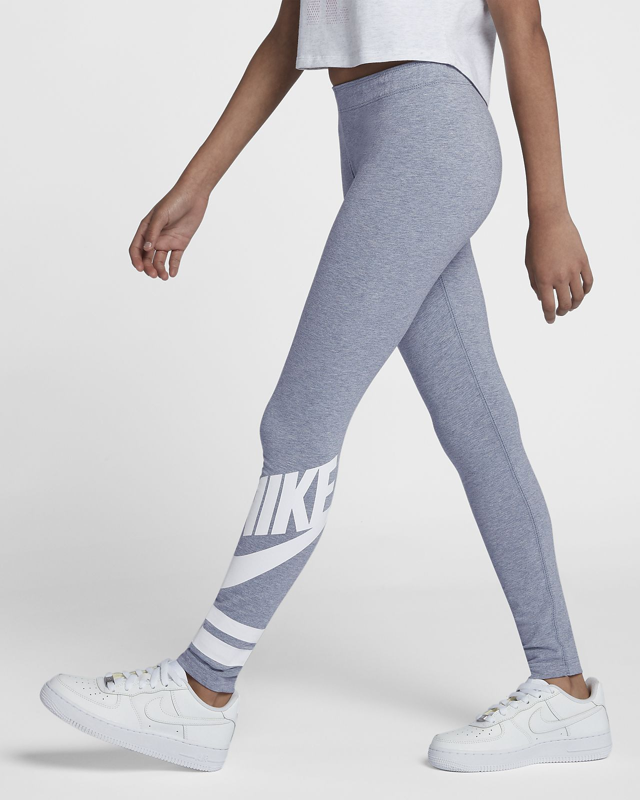 เลกกิ้งเด็กโตมีกราฟิก Nike Sportswear (หญิง)