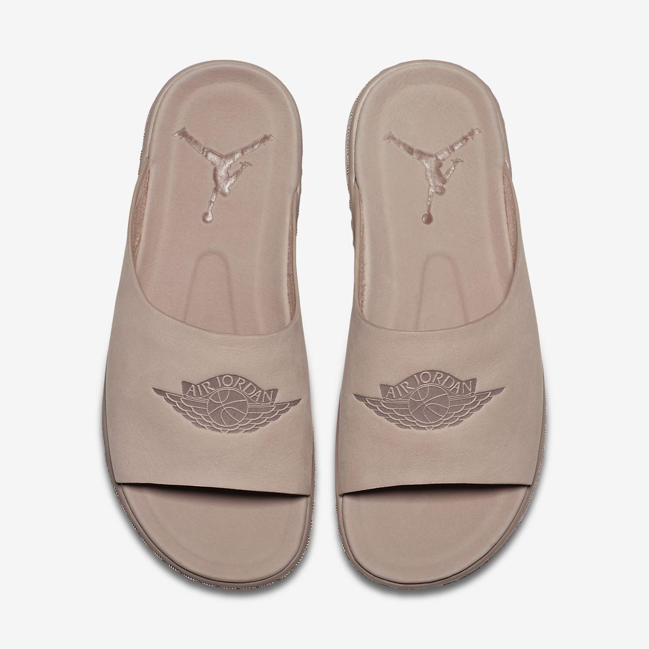 WMNS Nike Air Jordan Modero 1 SZ 12 Particle Beige Pink Sandal Slide AO9919-200