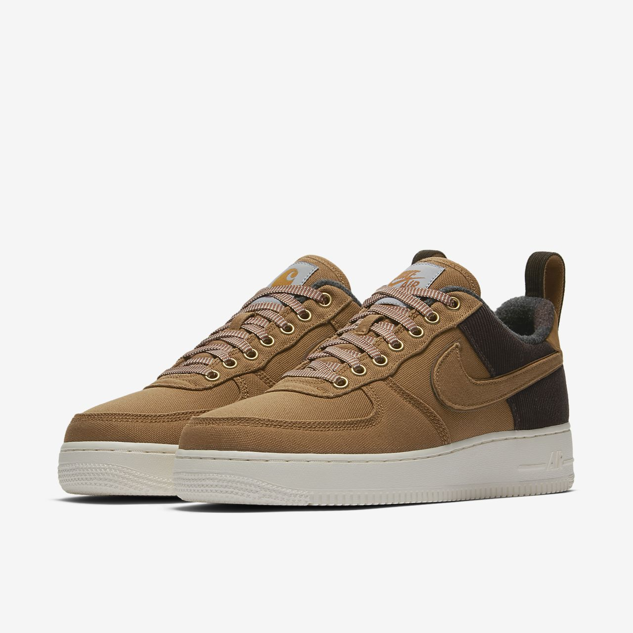 low priced 7e854 98f2c sports shoes df10d c9955 nike air force 1 beige pink white mænd ...