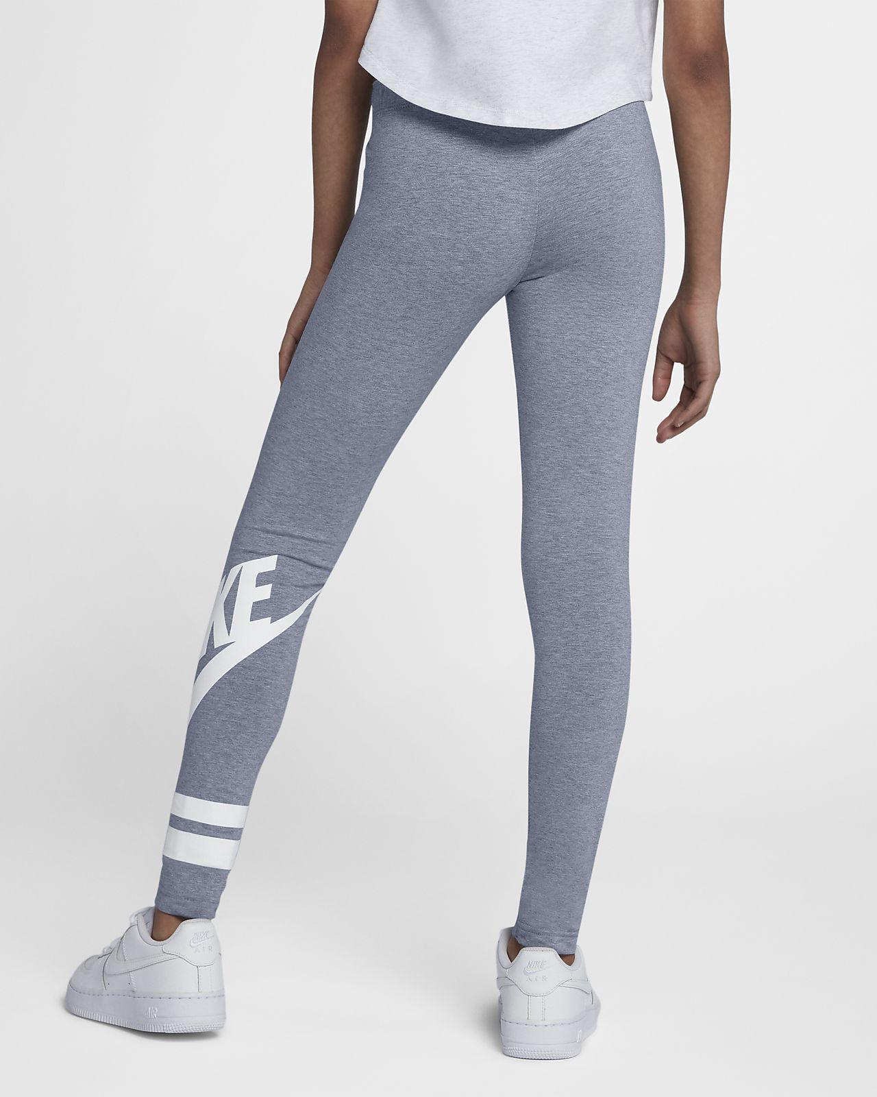 e1cbbe382ca942 ... Nike Sportswear Leggings mit Grafik für ältere Kinder (Mädchen)