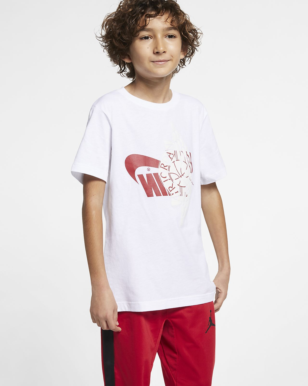 T-shirt Jordan Sportswear Wings Júnior (Rapaz)
