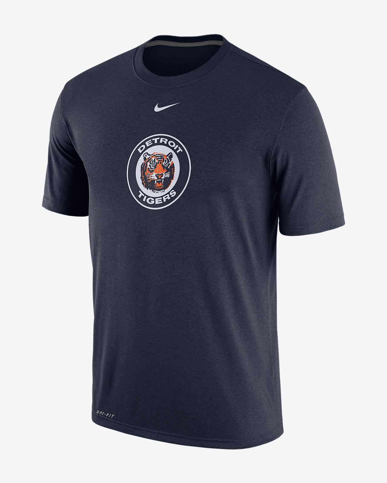 Nike Marled (MLB Tigers) Men's T-Shirts Navy
