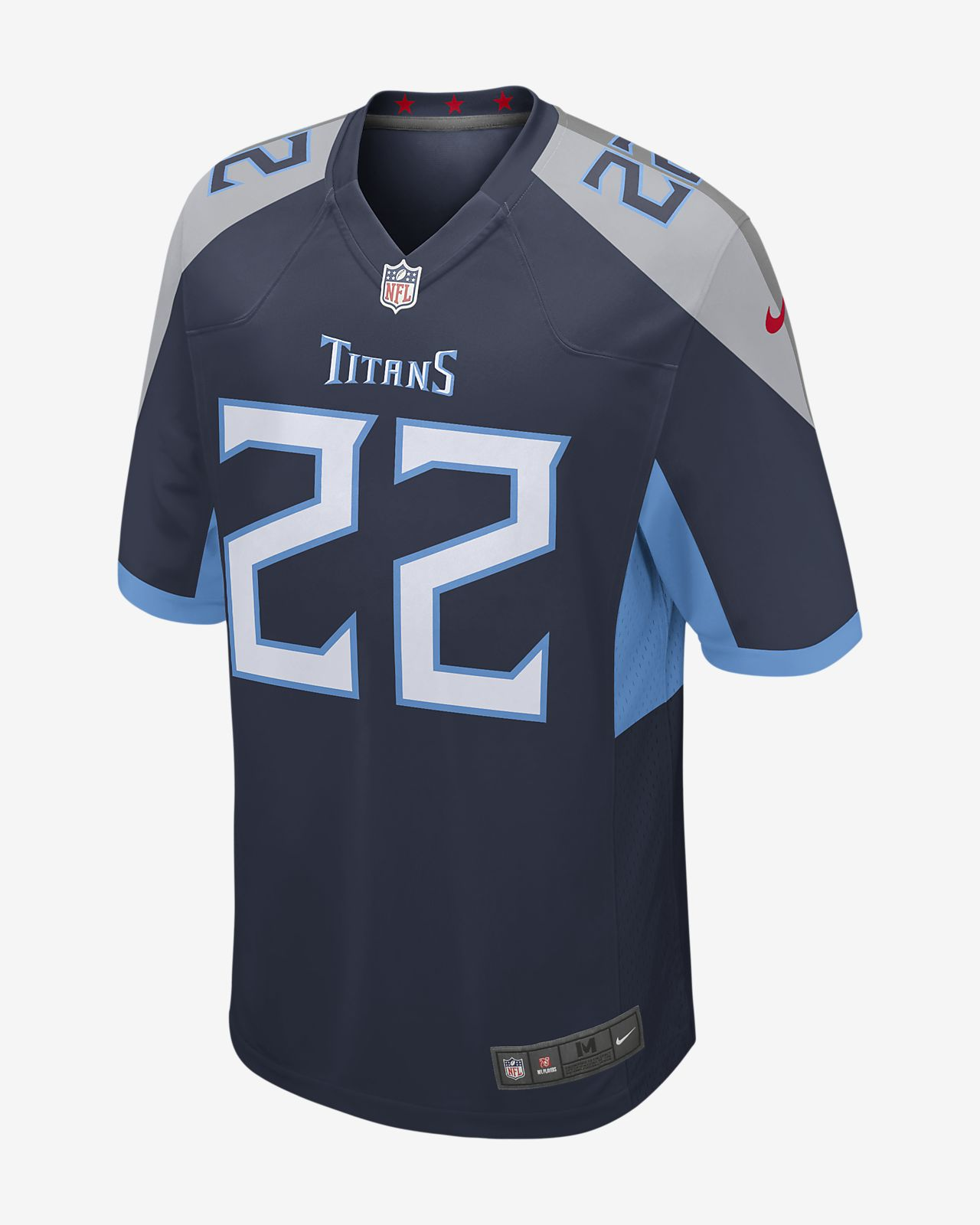 new styles b49be 58770 NFL Tennessee Titans Game Men's Football Jersey