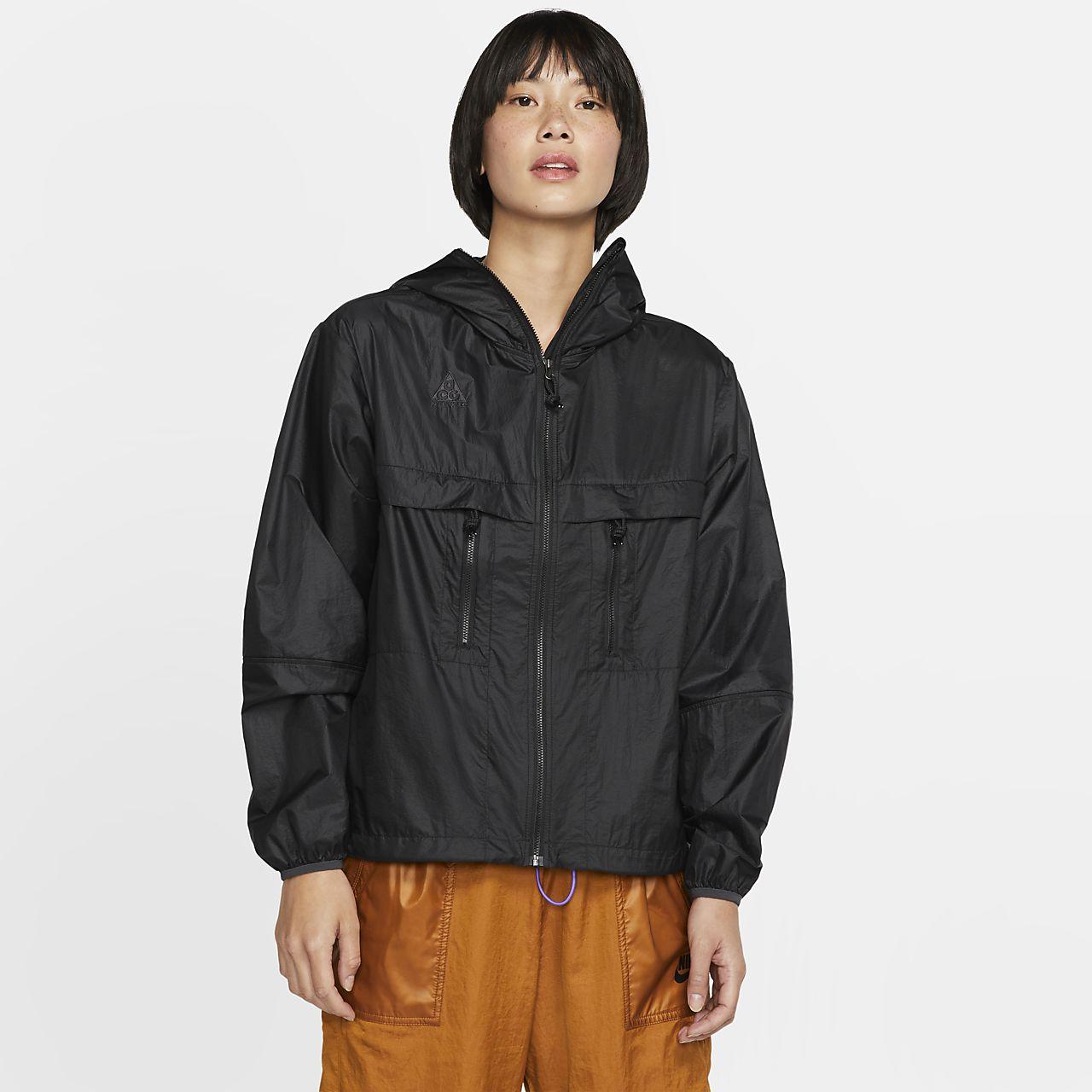 เสื้อแจ็คเก็ตมีฮู้ดผู้หญิง Nike ACG