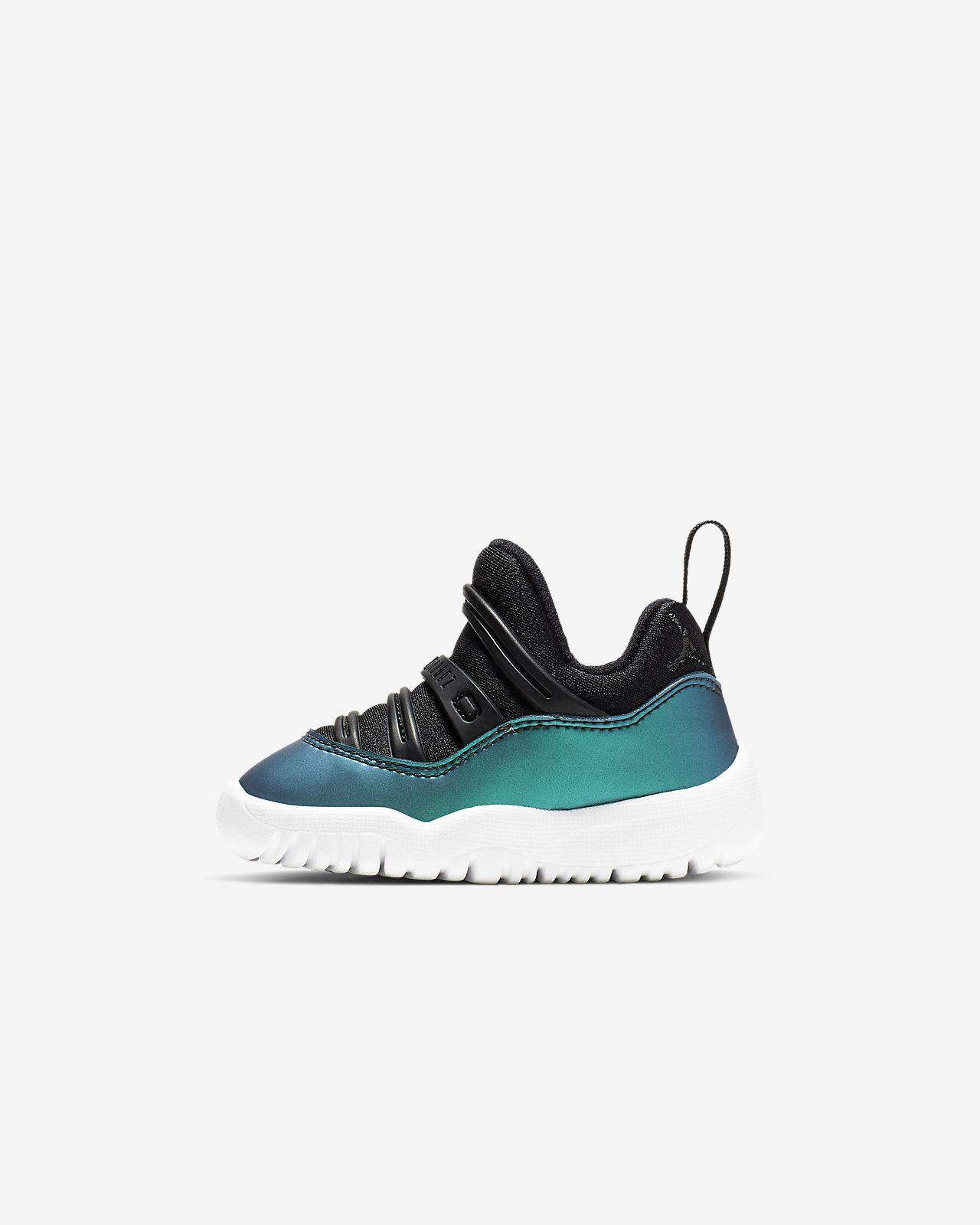 low priced e3df0 5d909 Air Jordan 11 Retro Little Flex Baby/Toddler Shoe