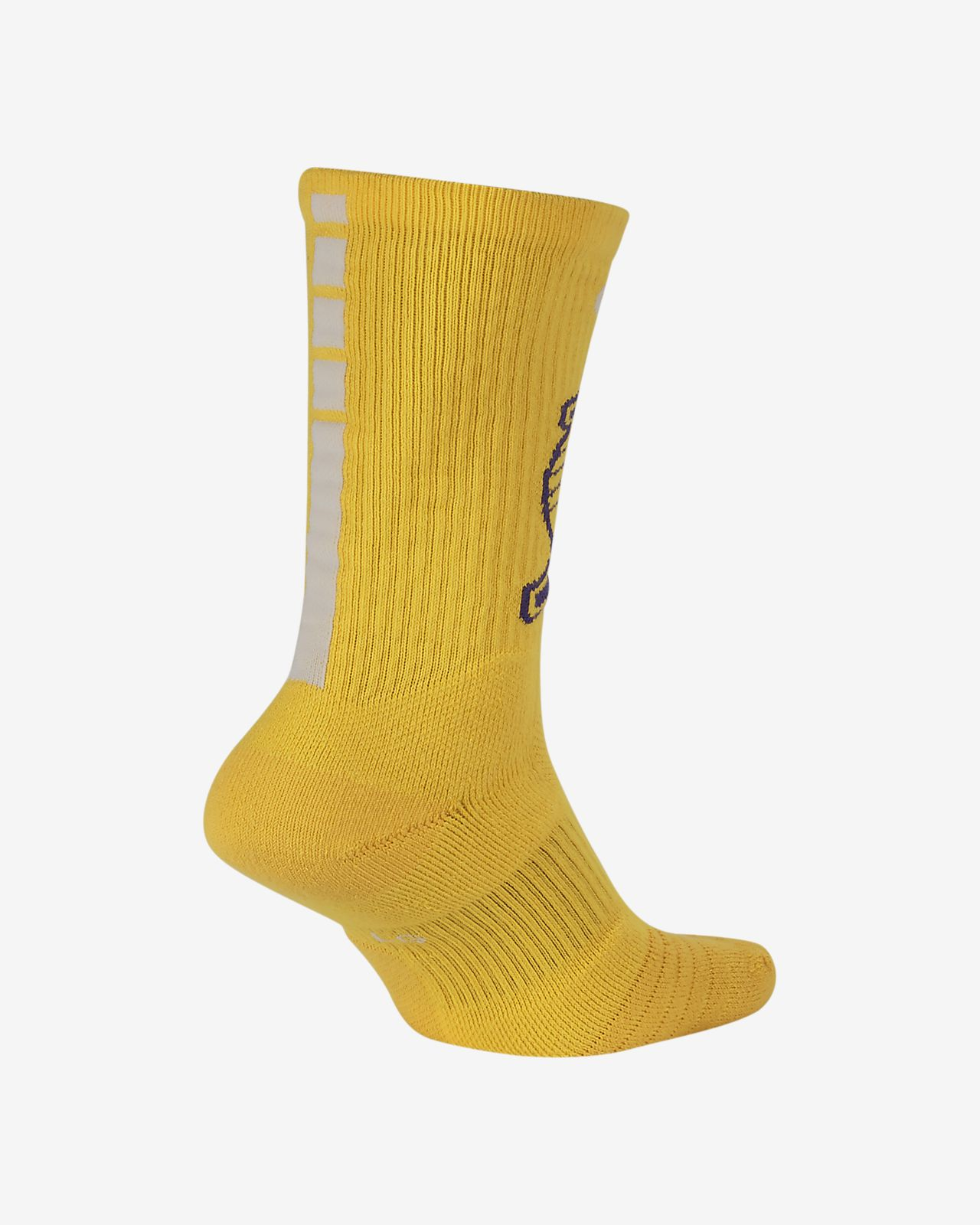 3e9983219ca Los Angeles Lakers Nike Elite NBA Crew Socks. Nike.com