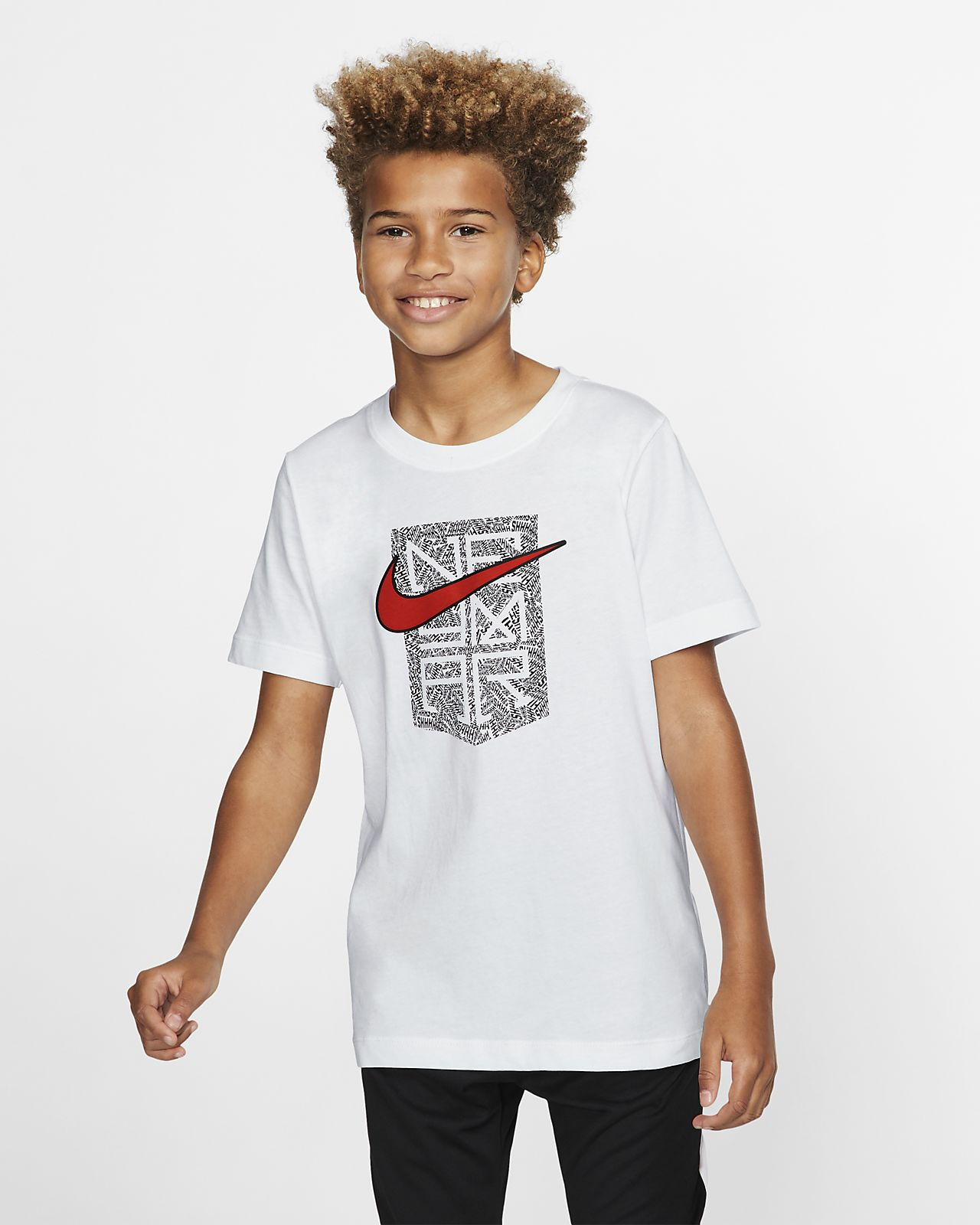 Playera para niños talla grande Neymar Jr.