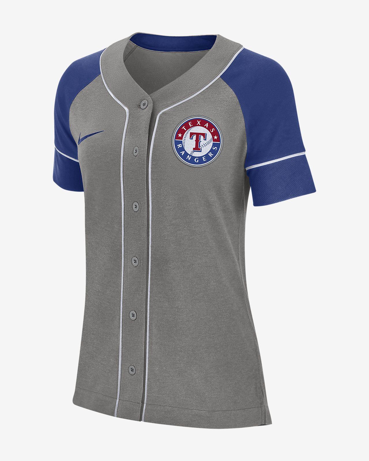 a09a94d92a75 Nike Dri-FIT (MLB Rangers) Women s Baseball Jersey. Nike.com